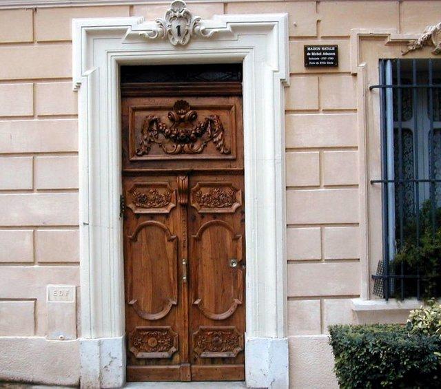 Les portes decoration - Roue chromatique peinture ...